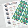 Personalised stickers uk
