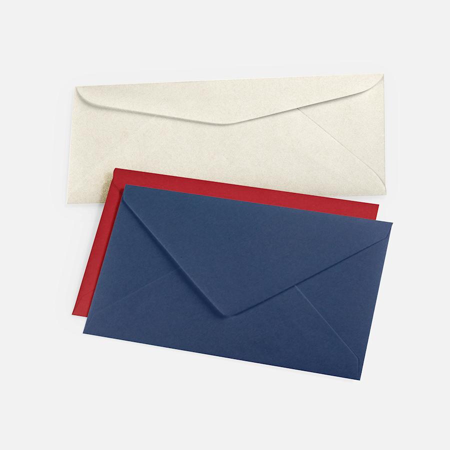 Coloured Blank Envelopes