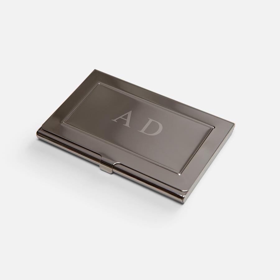 Engraved Business Card Holder