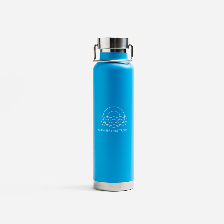 Stainless Steel Wide-Mouth Insulated Bottle – 22 oz.