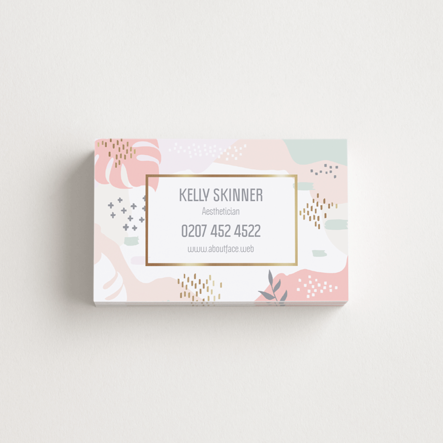 Laminated Matte Business Cards