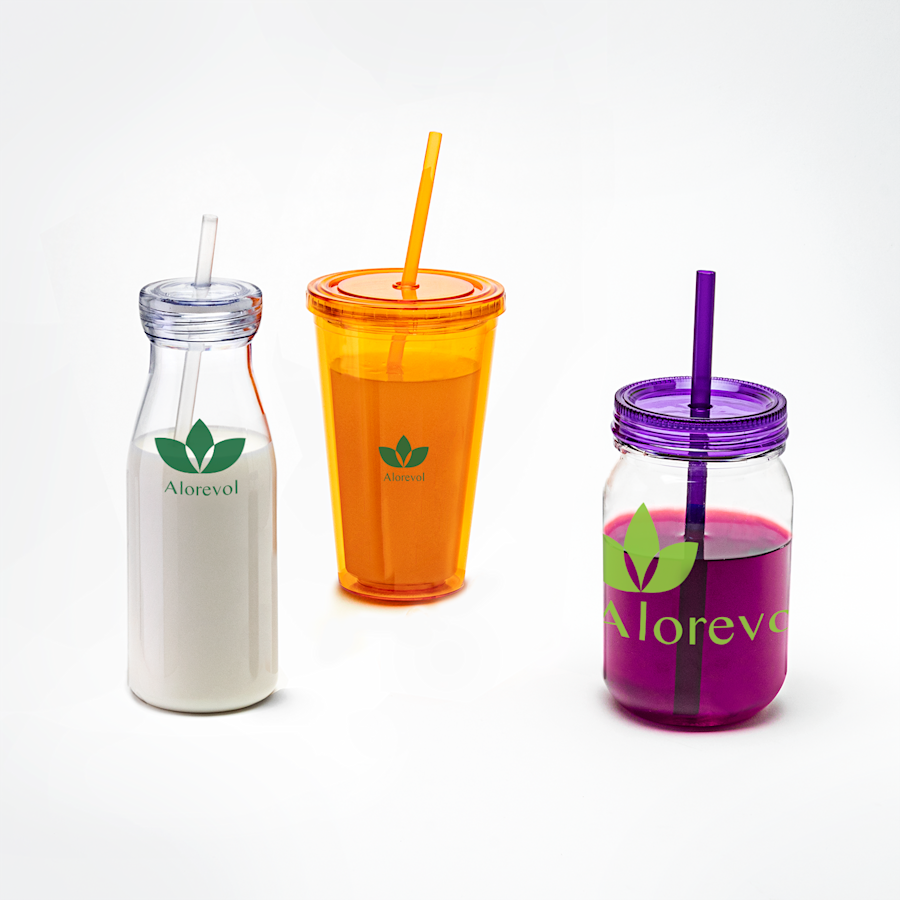 Cups With Straws