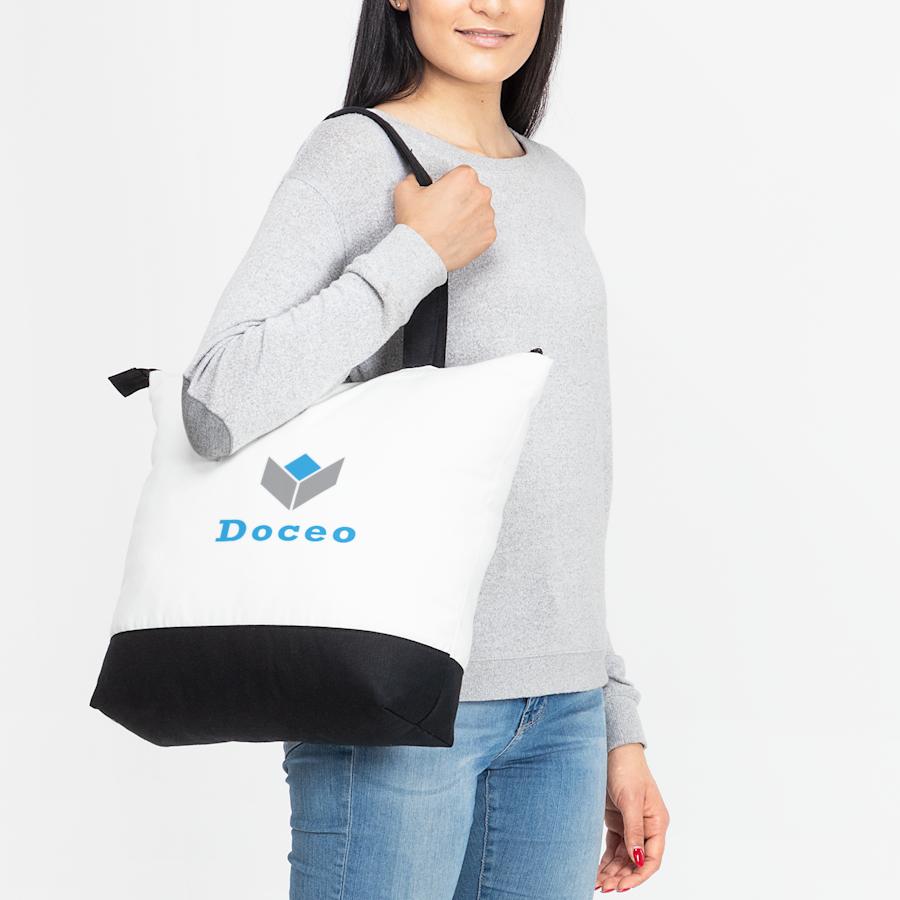 Premium Zip Tote Bag
