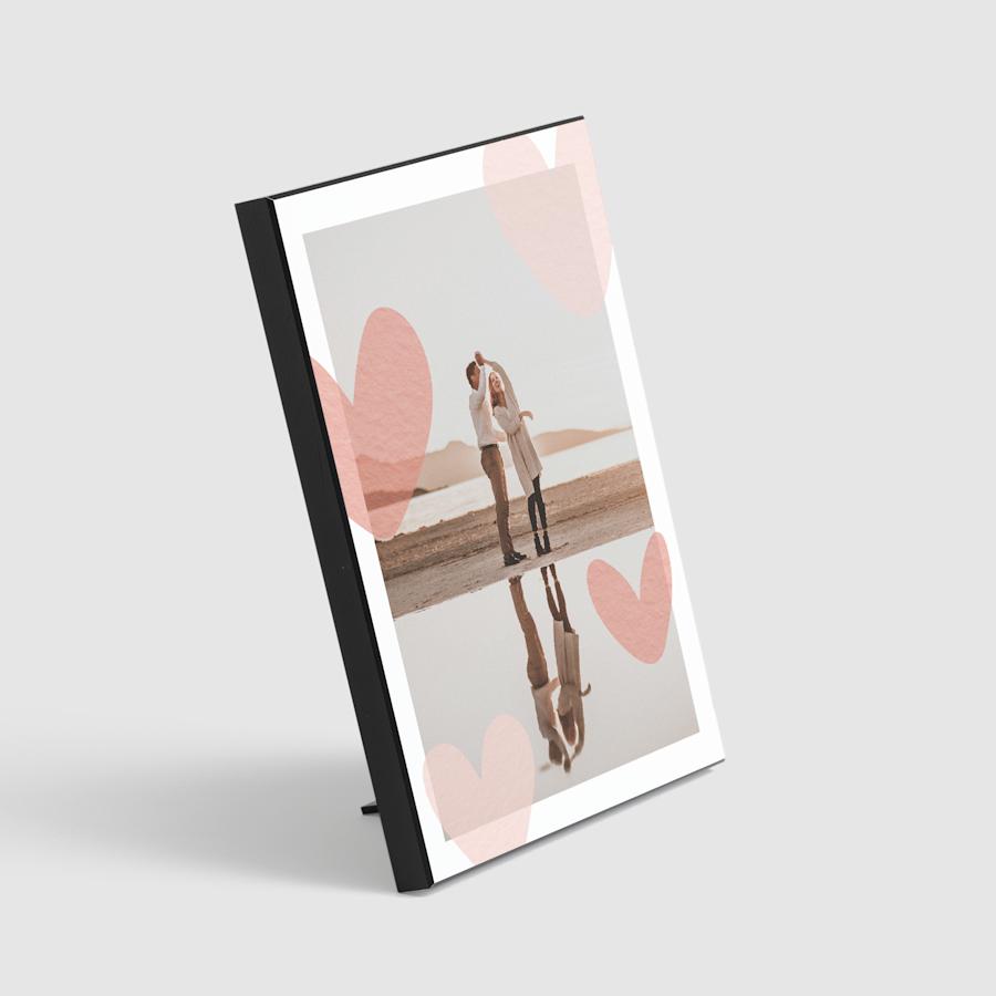 Portafotos de madera personalizados