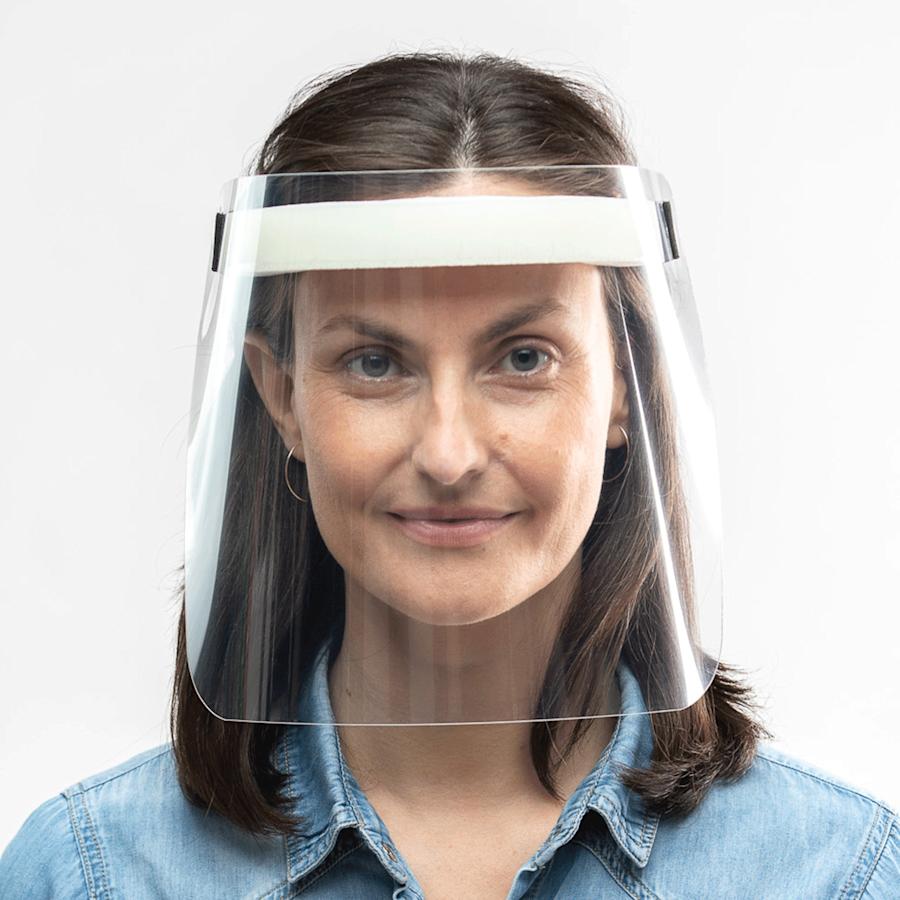 Protector facial