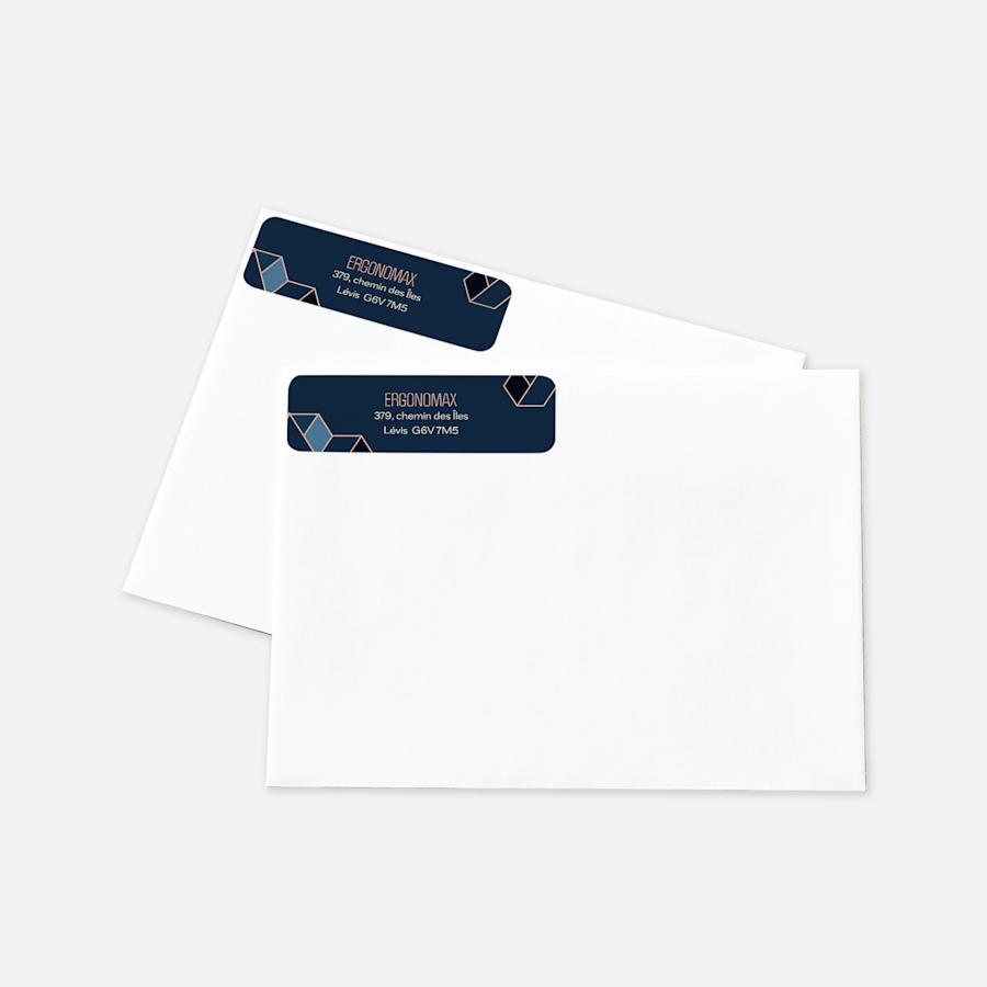 Étiquettes d'adresse