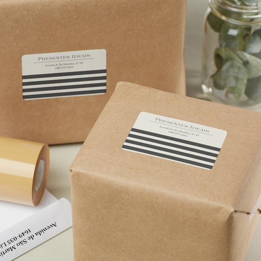 Etiquetas para correspondência