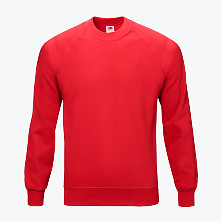 Sweatshirt com gola redonda Fruit of the Loom