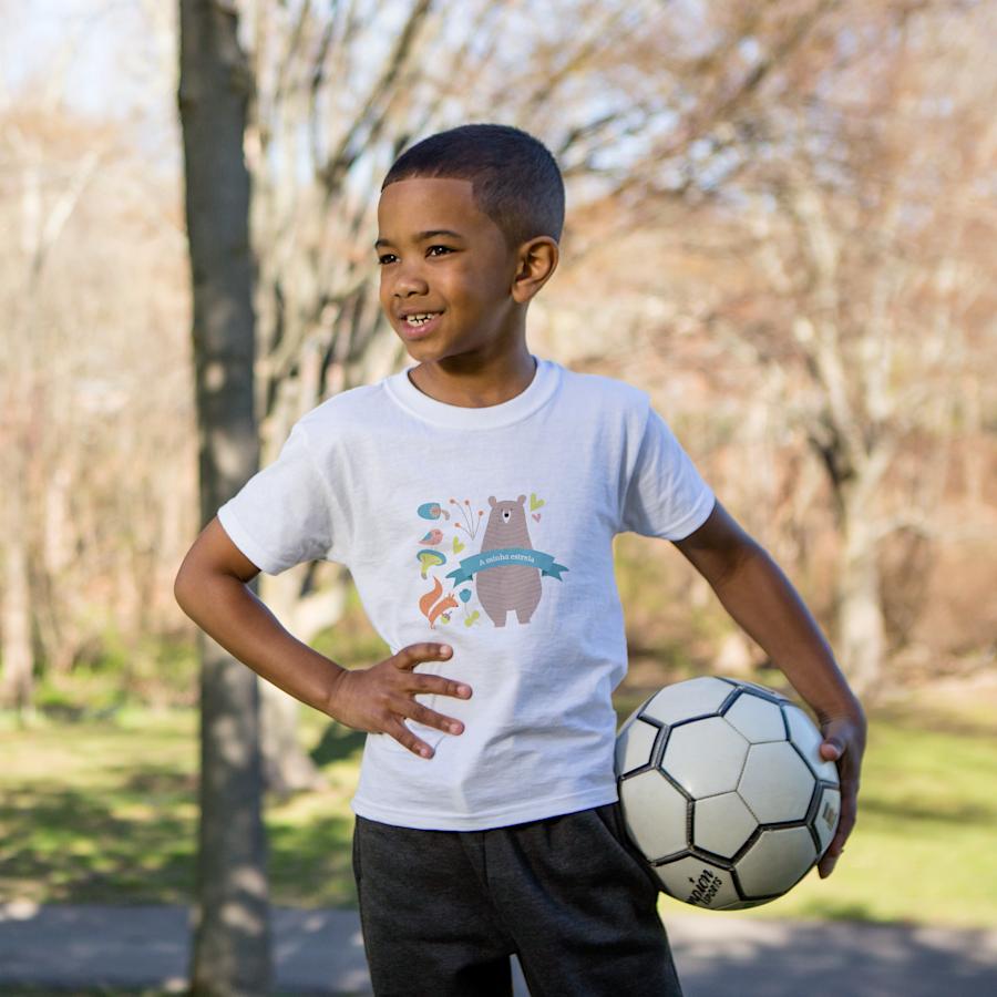 T-shirts para criança básicas