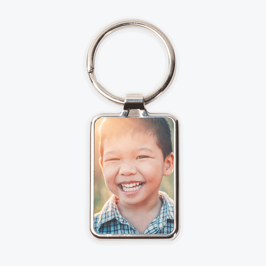 Porta-chaves com foto