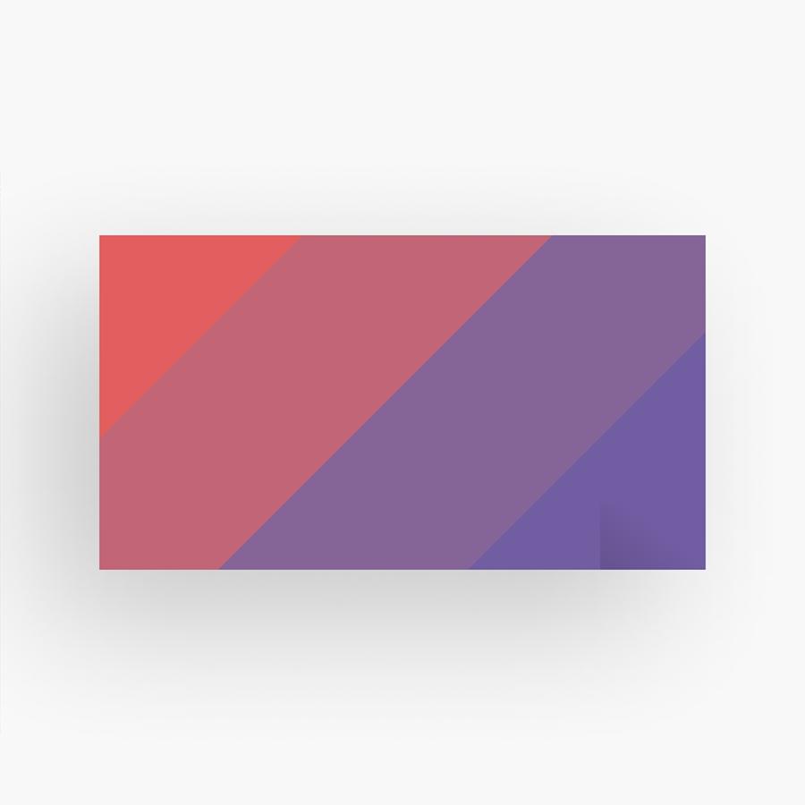 Pegatina rectangulares