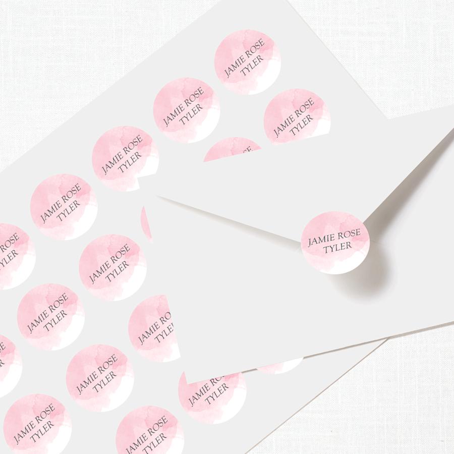 Lacres adesivos para envelopes
