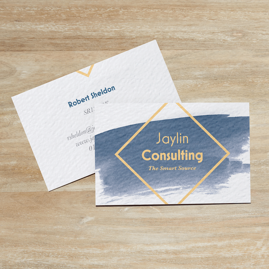Textured Uncoated Business Cards