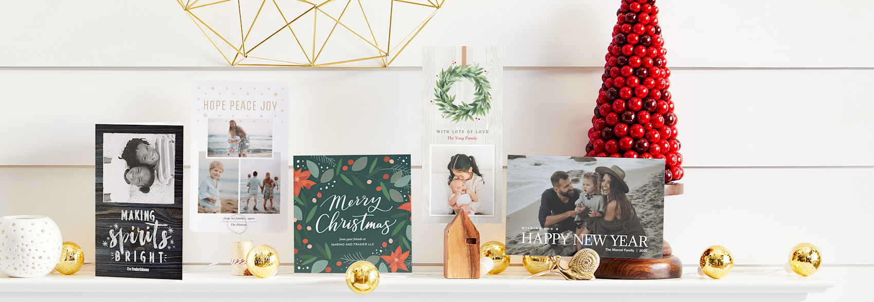 Christmas Cards Personalised