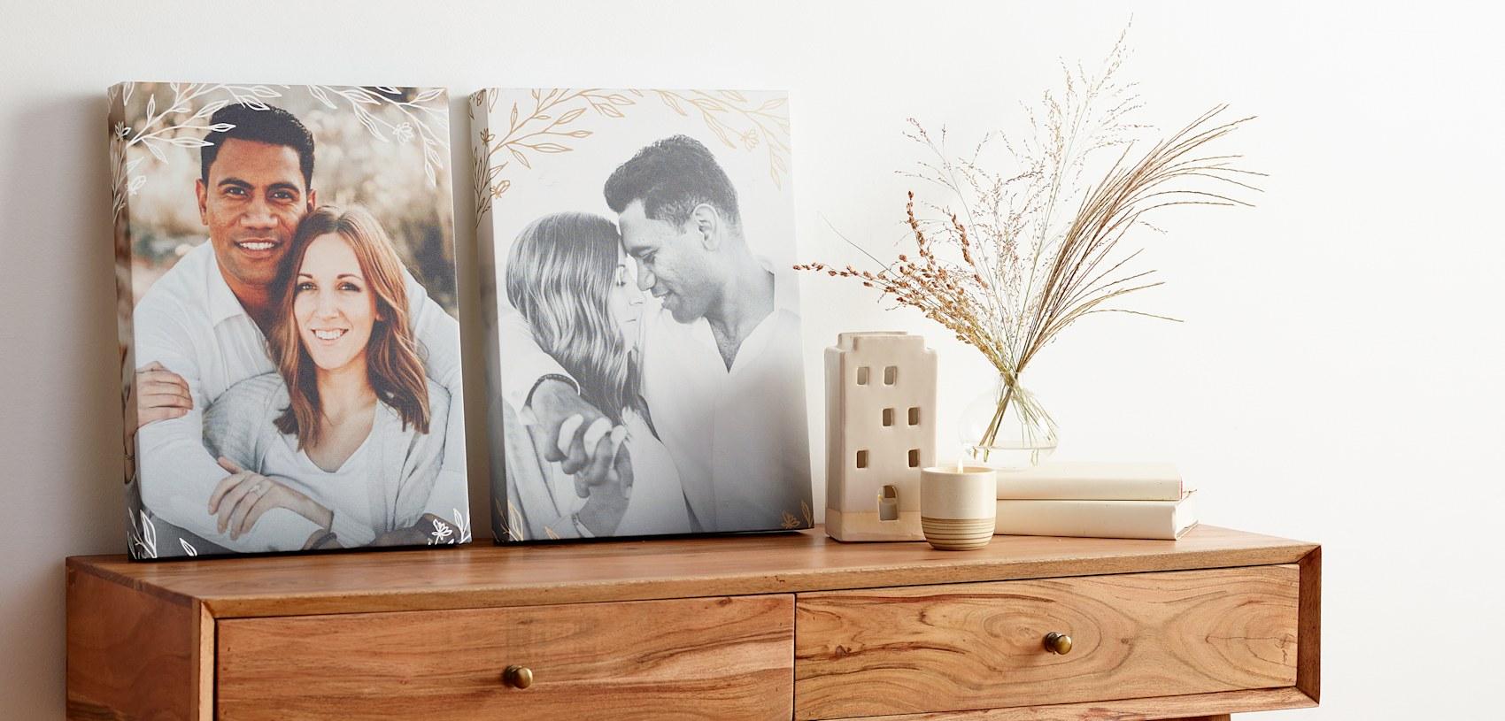 custom canvas prints with photo