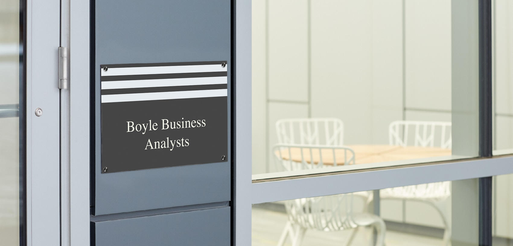 metal sign printing for business analysts