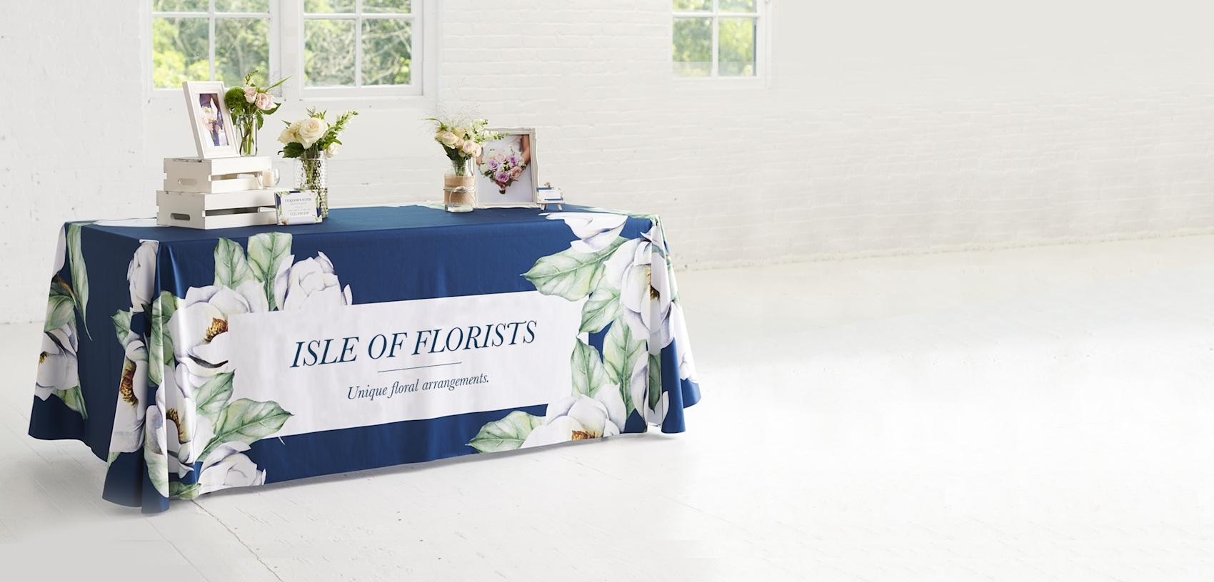 custom tablecloths