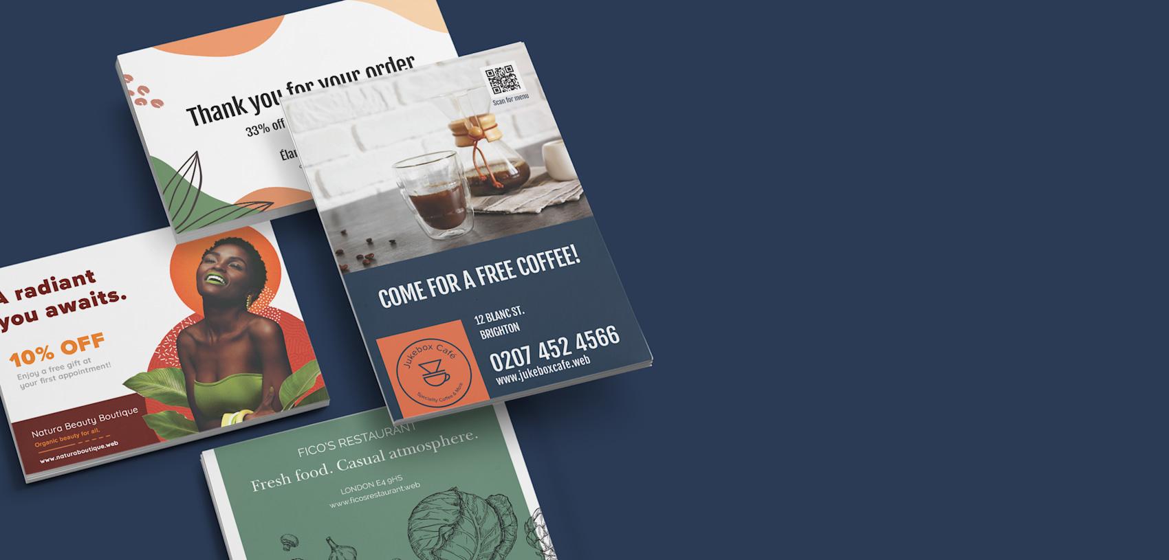 Postcard online printing