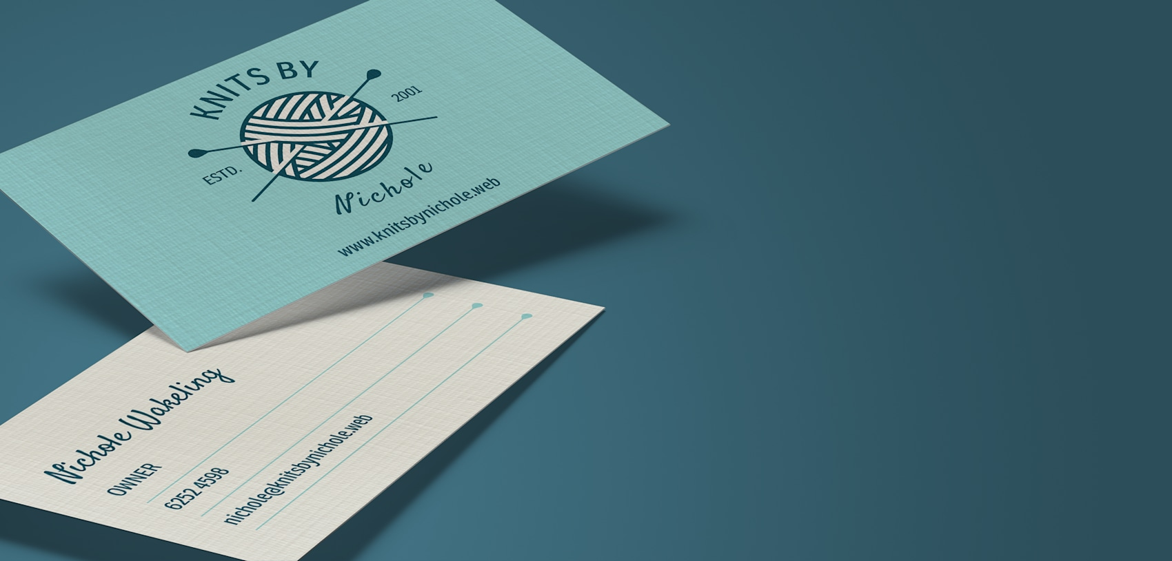 Linen Name Cards