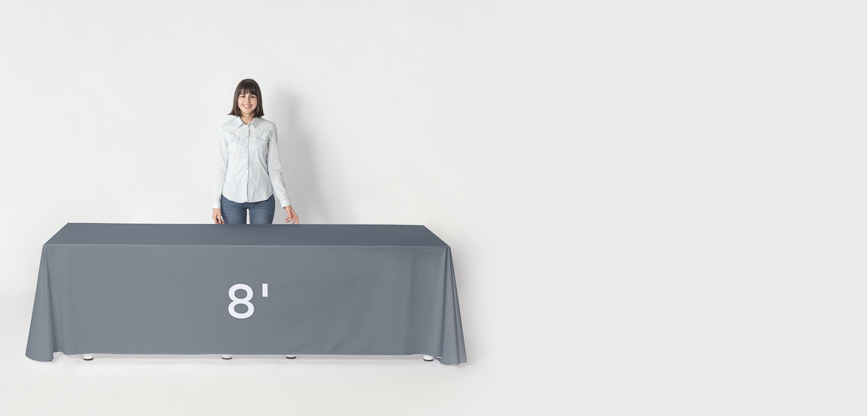 8 ft lenght tablecloth
