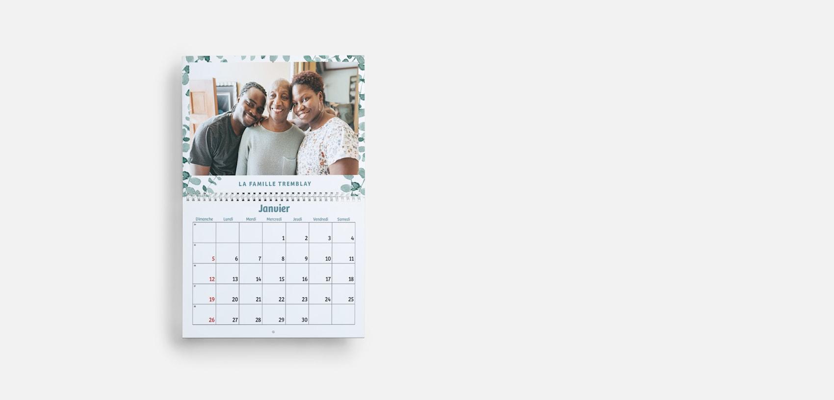 calendriers photo muraux