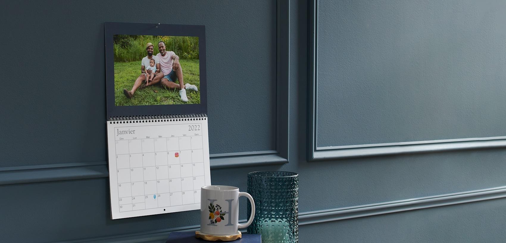 calendriers muraux personnalisés