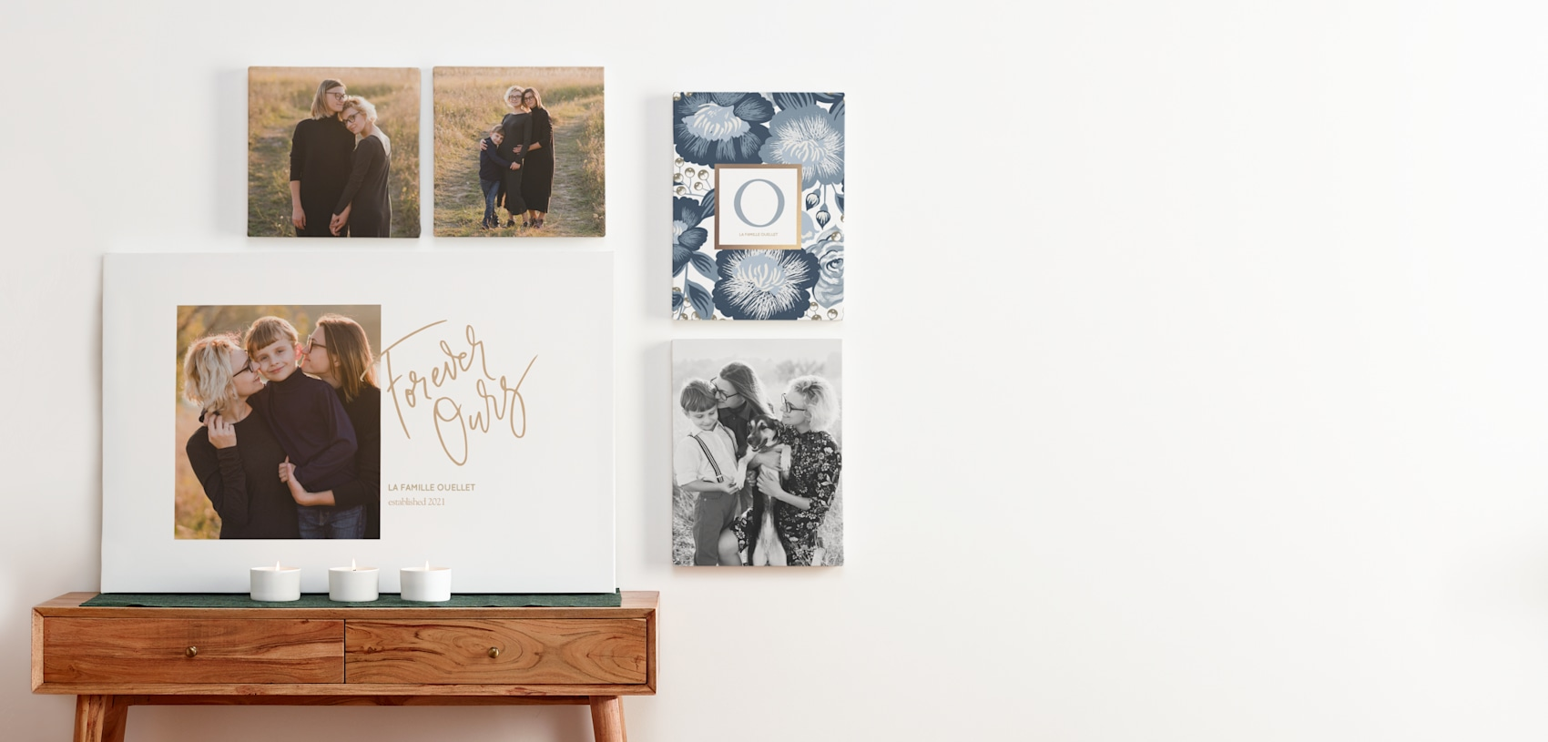 mur photo avec impressions sur toile