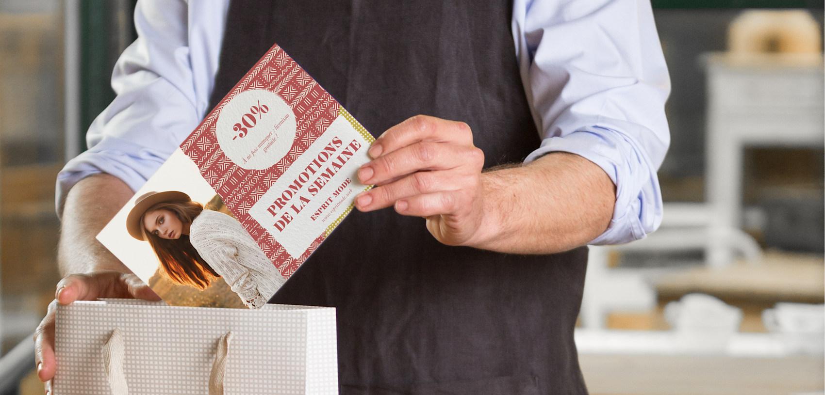cartes postales personnalisées pour rabais de 30%