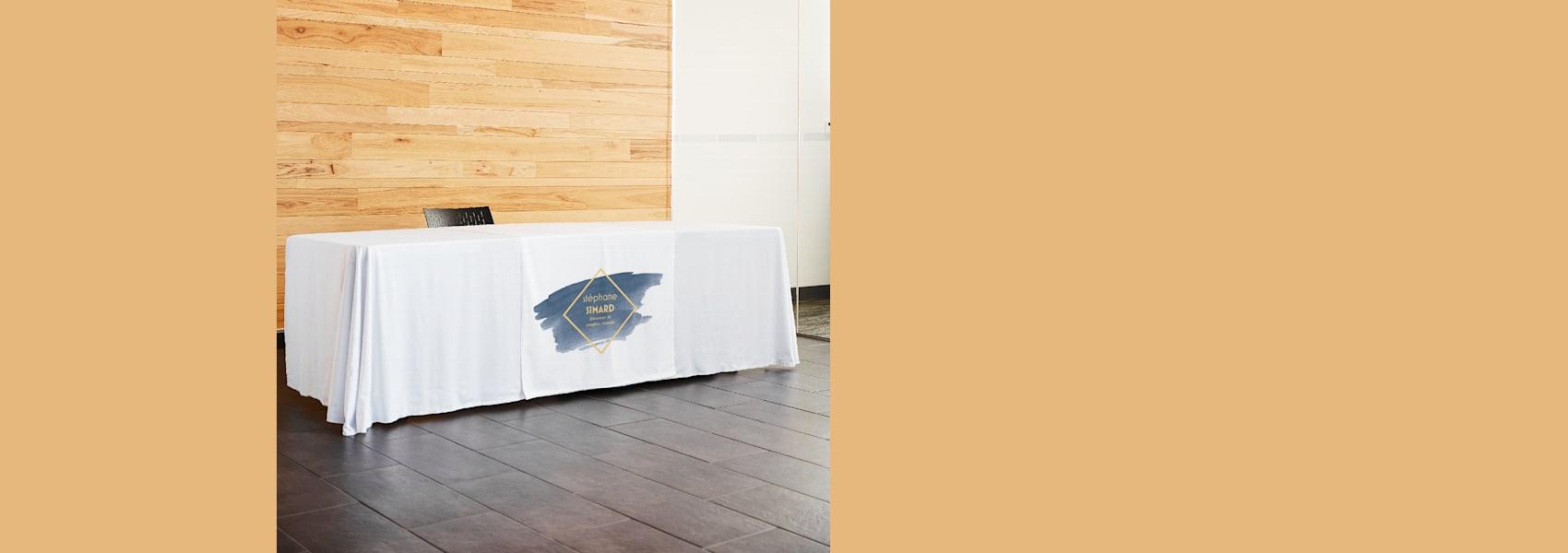 chemins de table pour salons professionnels