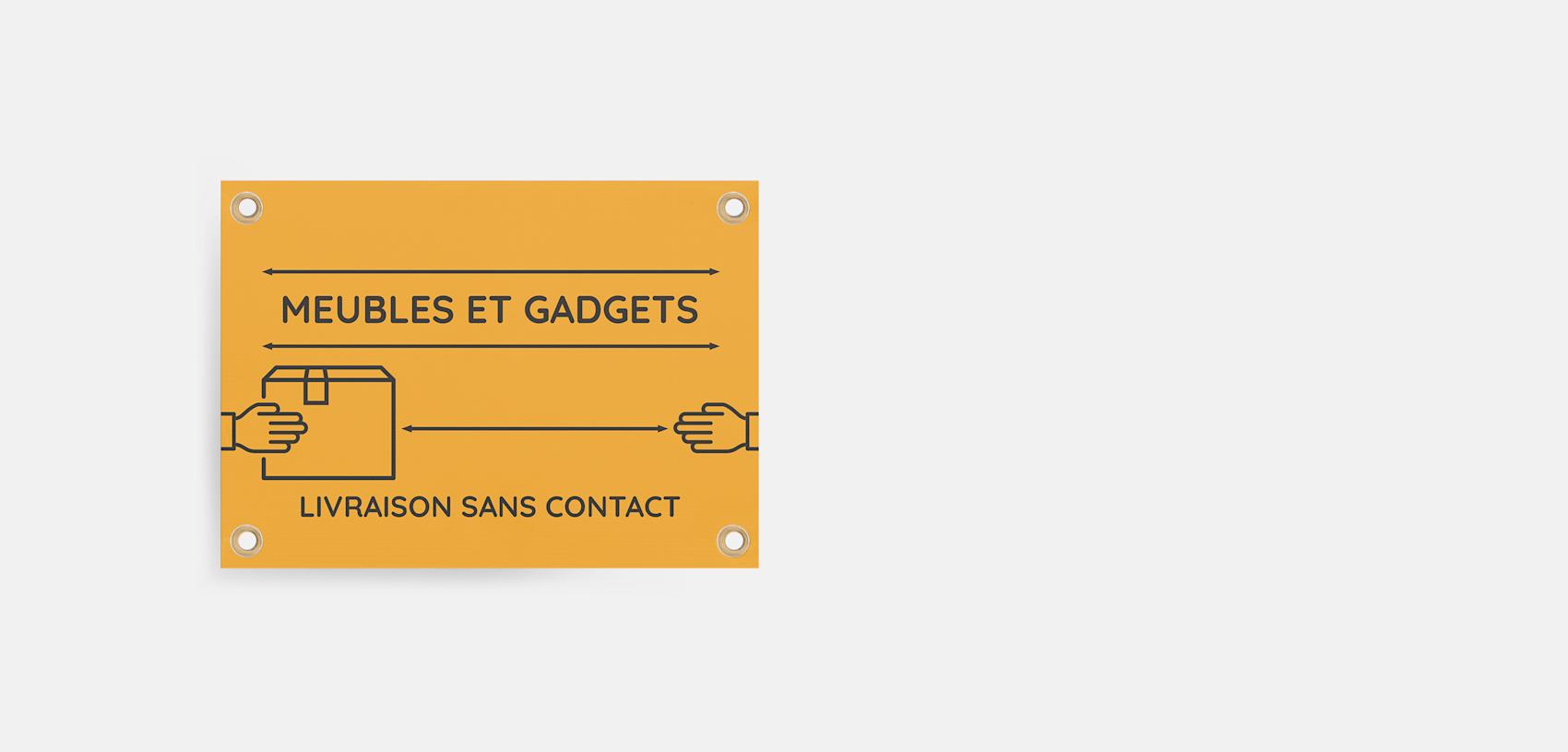 panneaux en plastique Canada