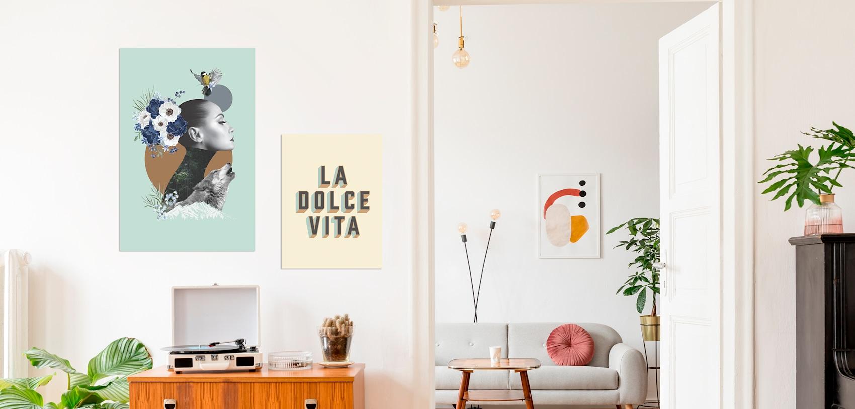 affiches artistiques pour la maison