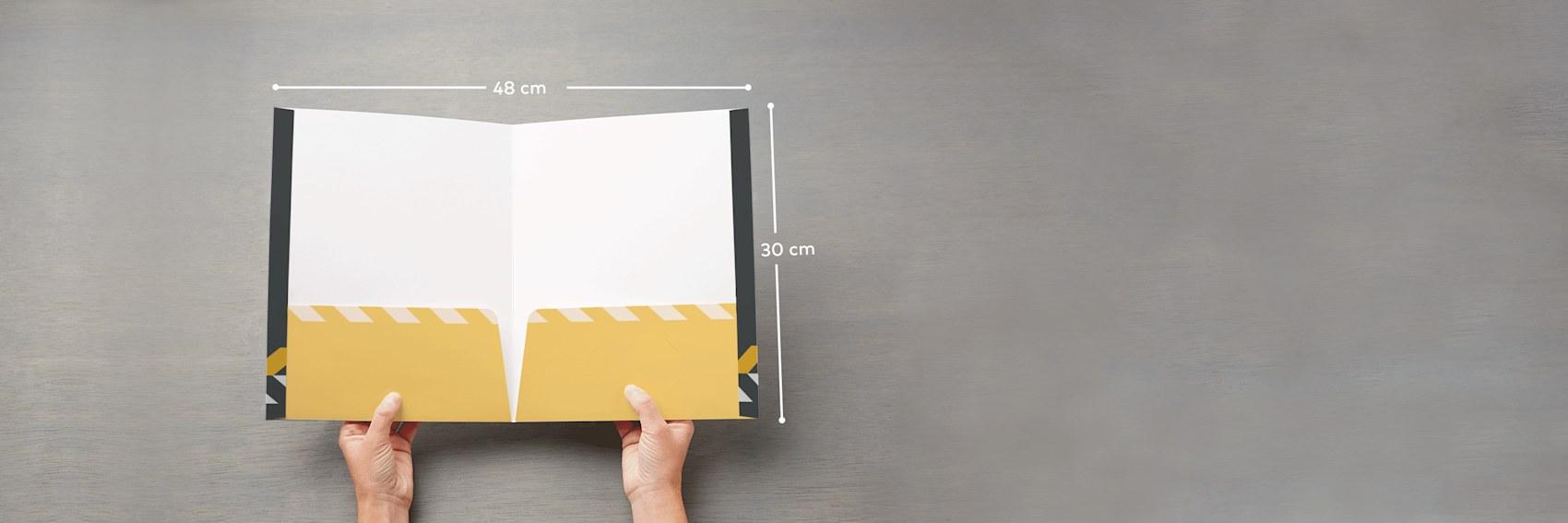 Cartelle Da Presentazione Stampa Di Cartelline Personalizzate Vistaprint
