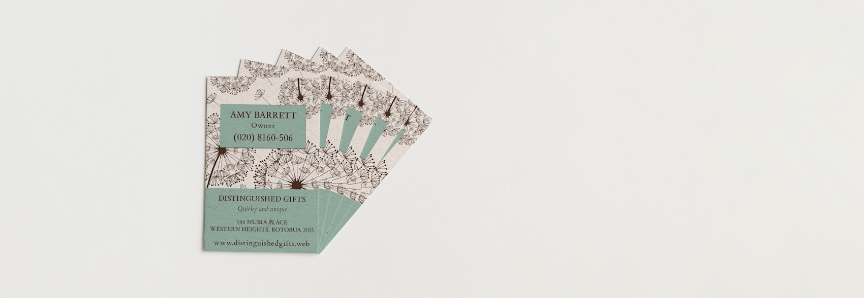 Cotton Business Cards