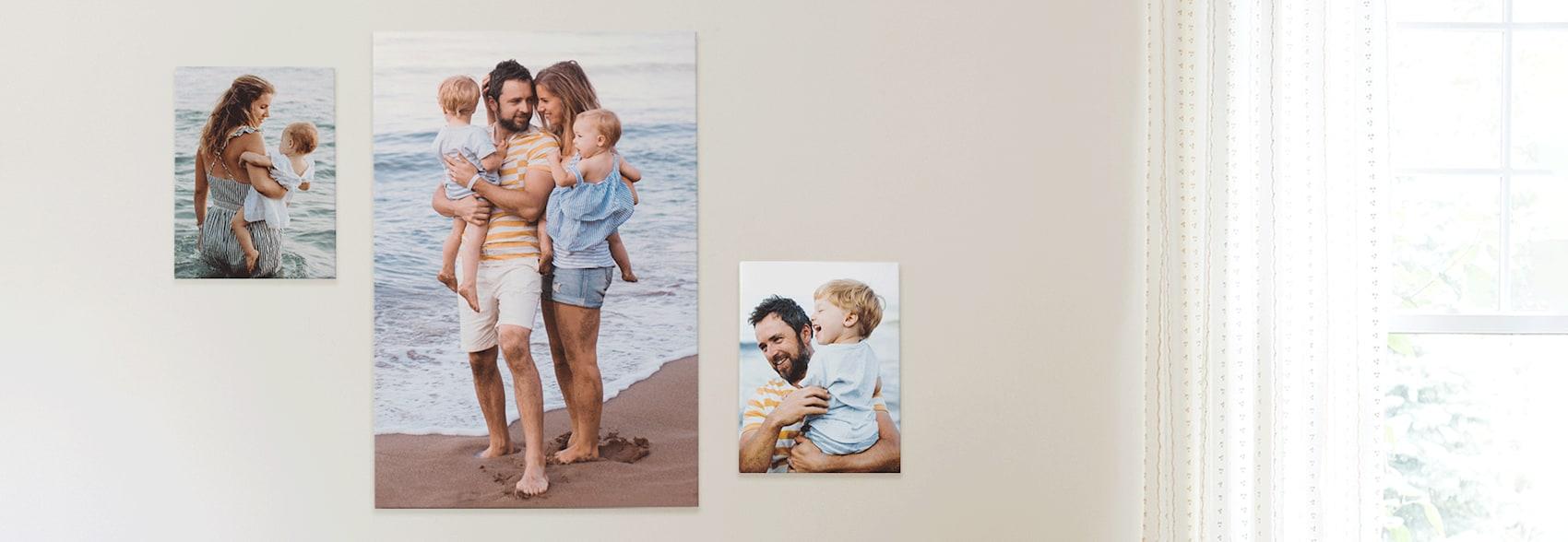 Impressão de foto em tela online