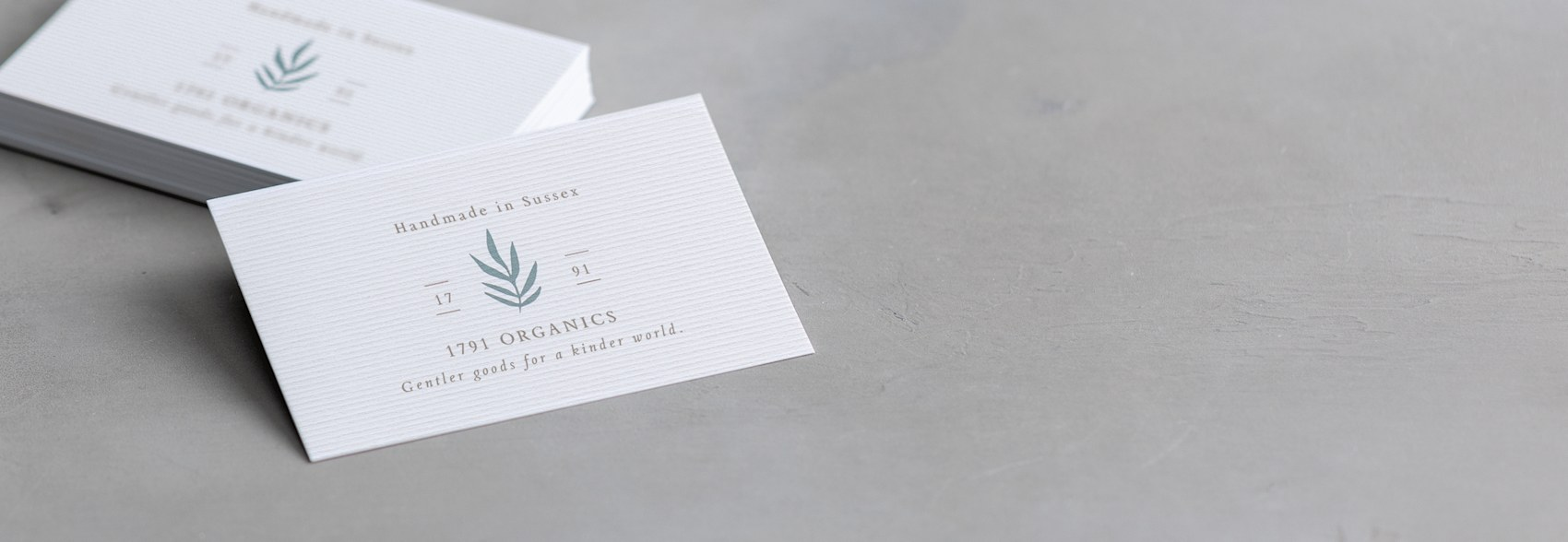 Corrugated business cards
