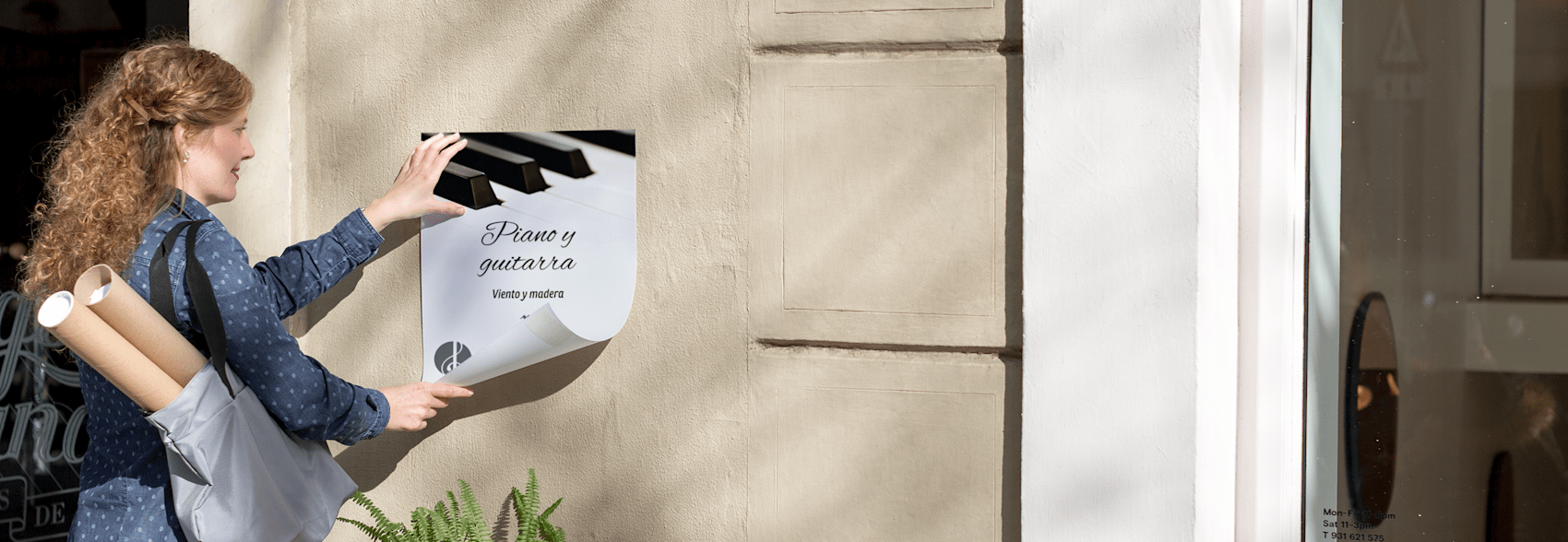 carteles para exteriores