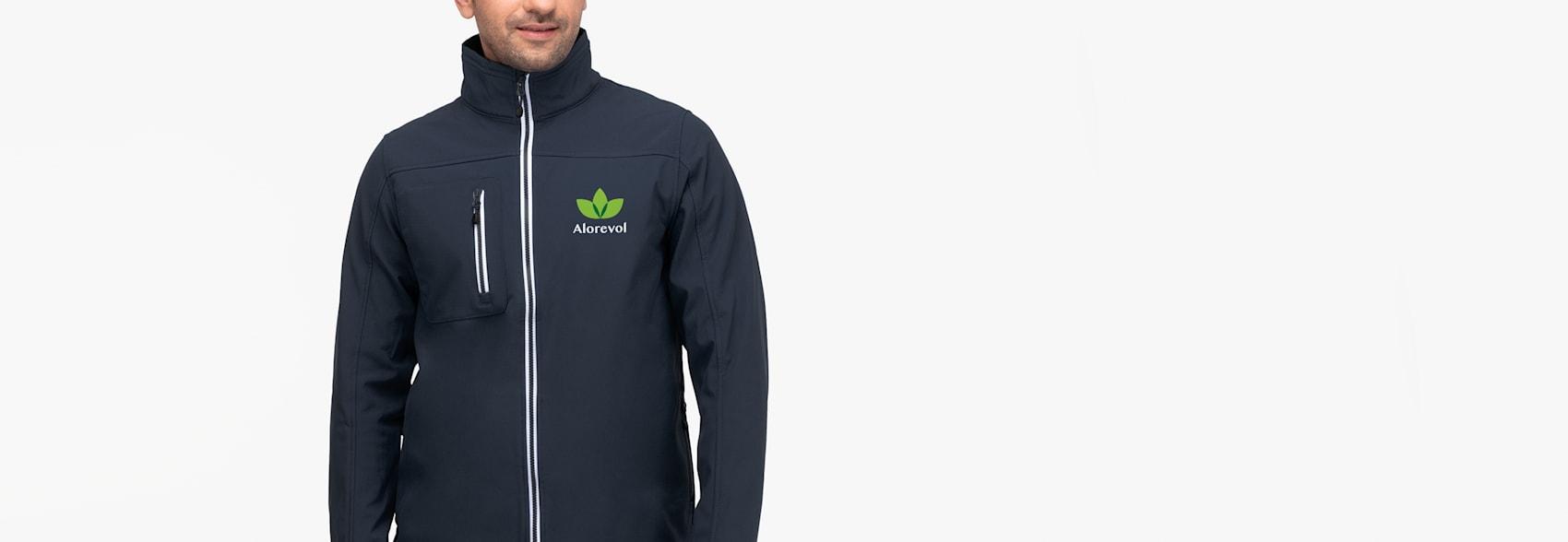 Printer Vert Softshell Jackets