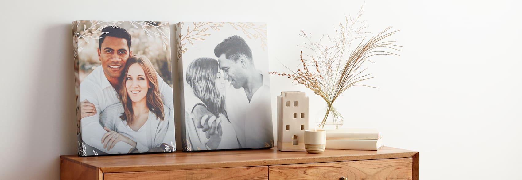 Print photo canvas