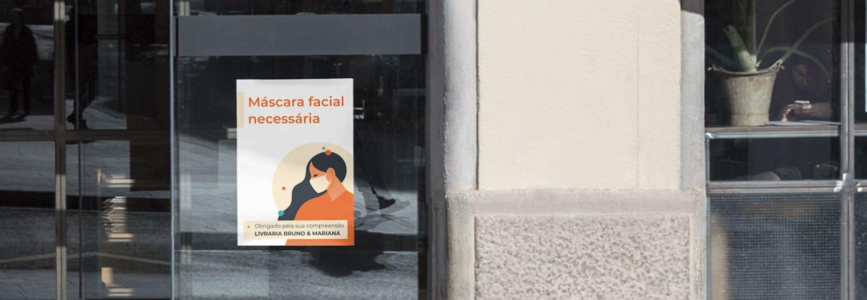 cartazes para exterior