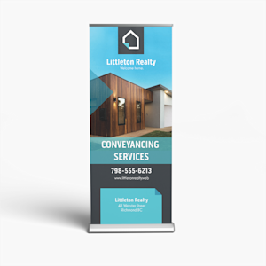 retractable banners stand