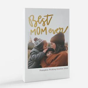 photo sur toile avec graphisme meilleure maman au monde