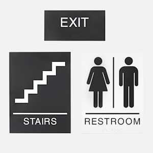 office wayfinding signs
