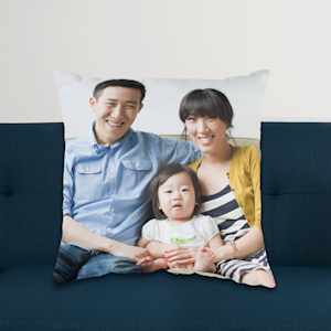 photo pillow with family photo