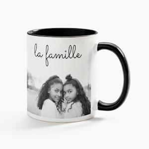 tasse de la meilleure grand-mère avec photo personnalisée
