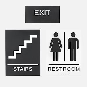 panneaux d'indication du chemin pour des bureaux