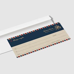 diseño de cheques regalo