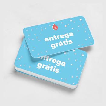 Cartões de visita standard